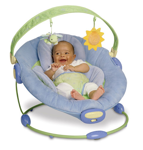 Infant bouncy chair - Amazon Com Boppy Cradle In Comfort Bouncer Blue