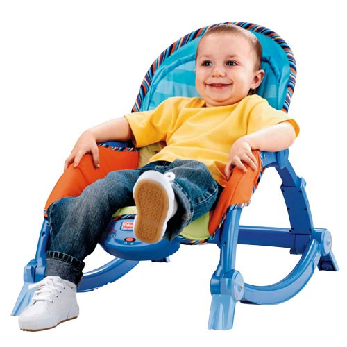 Fisher price newborn to toddler rocker for Chaise vibrante
