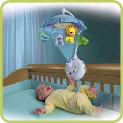 B001GQ2SA2 1 sm Fisher Price Precious Planet 2 in 1 Projection Mobile