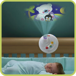 B001GQ2SA2 2 sm Fisher Price Precious Planet 2 in 1 Projection Mobile