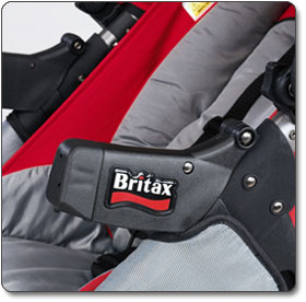 Britax Arm Rest Covers for Chaperone Stroller