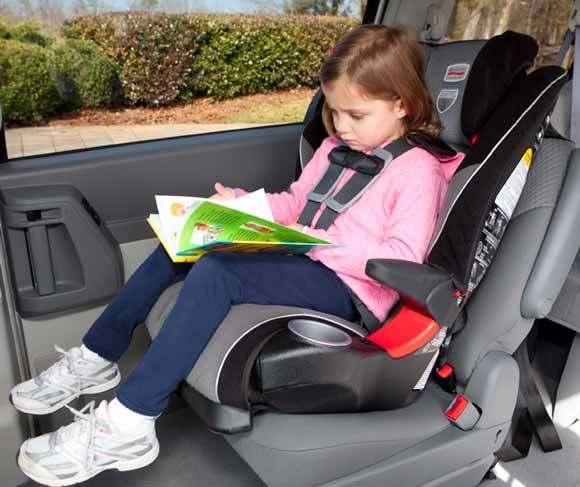 Britax  Point Harness Booster Car Seat