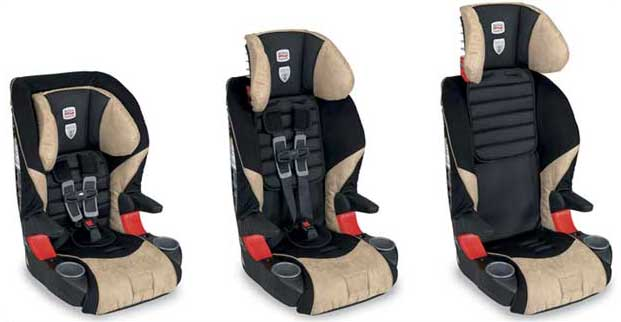 One Britax Frontier 85 Combination Booster Seat and manual.