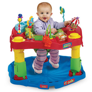 Evenflo ExerSaucer Mega active Learning Center - Circus