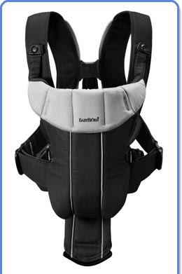 Amazon.com : BABYBJORN Baby Carrier Active, Black/Red