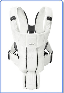 Amazon.com : BABYBJORN Baby Carrier Active, White, Mesh