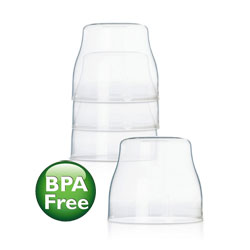 Philips AVENT SCF141/00 Classic Dome Caps, BPA Free Product Shot