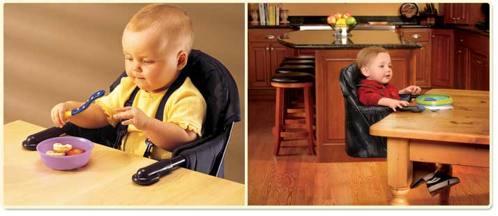 Regalo Easy Diner Portable Hook-On High Chair Lifestyle Shot