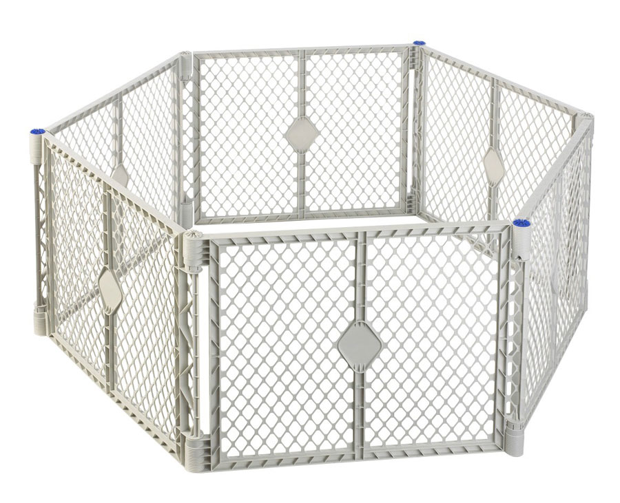 Amazon.com: North States Superyard Play Yard, Grey, 6 ...