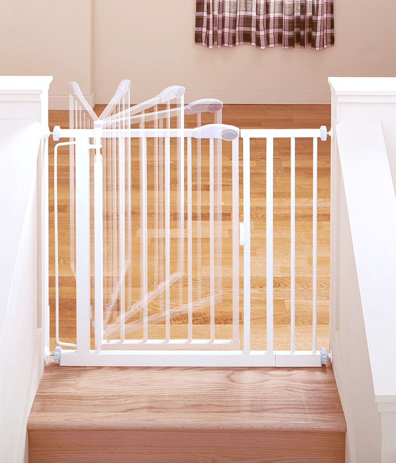Industries Supergate Auto-Close Gate : Indoor Safety Gates : Baby