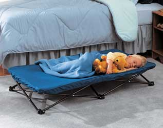 Regalo My Cot Portable Bed (Royal Blue)