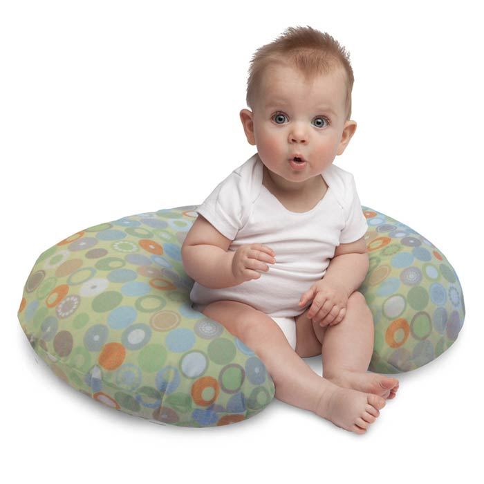Boppy Nursing And Infant Support Pillow With Slipcover