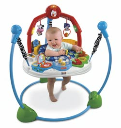 Fisher Price Laugh 'n Learn Jumperoo Lifestyle Shot
