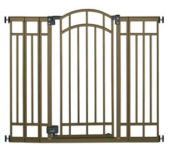 Summer Infant Stylish&amp;Secure Extra Tall Decorative Walk-Thru Gate Product Shot