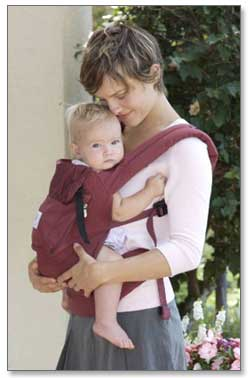 Ergobaby Original Collection Baby Carrier (Cranberry) Product Shot