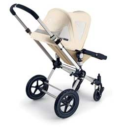 Bugaboo Cameleon Breezy Sun Canopy, Off White Product Shot