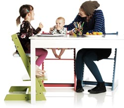 Stokke Tripp Trapp chair - Lifestyle shot