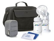 Philips AVENT BPA-Free On-the-Go Manual Breast Pump