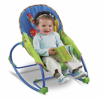 Fisher-Price Infant to Toddler Rocker Lifestyle Shot