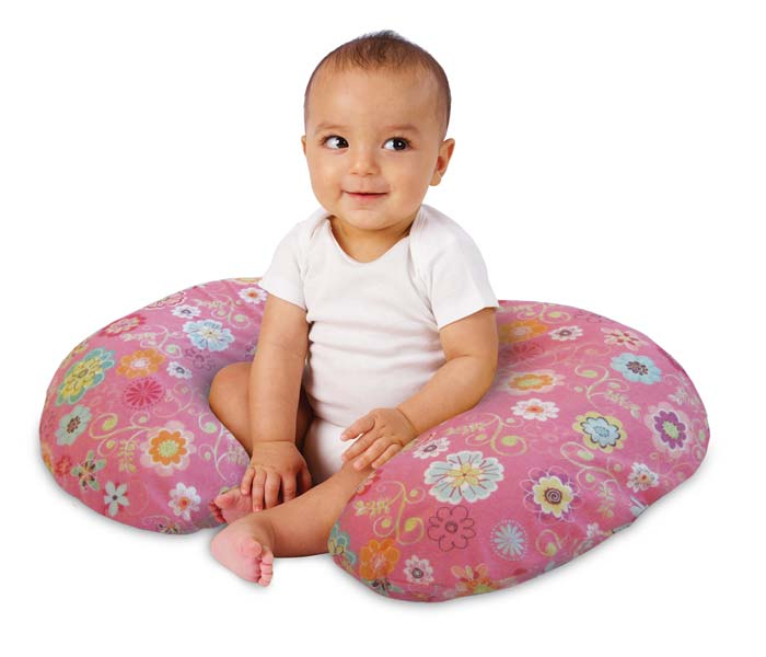 Amazon.com : Boppy Pillow with Slipcover, Wildflowers : Breast