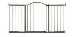 Summer Infant Stylish&Secure 6 Foot Extra Tall Metal Expansion Gate Product Shot