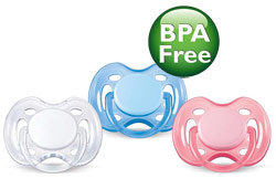 Philips AVENT SCF178/23 Freeflow Pacifier, 0-6 Months, BPA Free, 2-Pack, Colors May Vary Product Shot