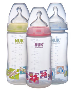 NUK Orthodontic Nature Bottle Shot