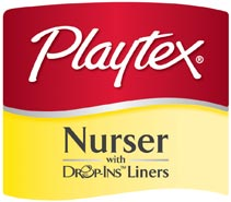 Playtex Drop-Ins Logo
