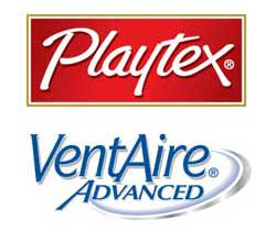 Playtex VentAire Logo