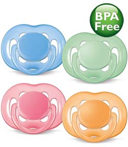 Philips AVENT SCF178/24 Freeflow Pacifier, 6-18 Months, BPA Free, 2-Pack Product Shot