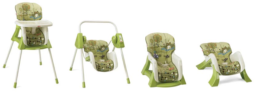 Fisher Price EZ Bundle 4-in-1 Baby System Product Shot