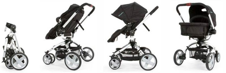 The First Years - Wave Stroller, Urban Life- black