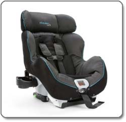 The First Years - True Fit C650 Recline Convertible Car Seat, Urban Life- black & gray