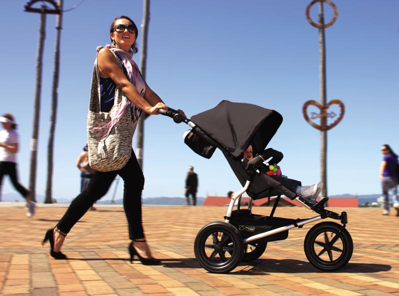 Mountain Buggy Urban Jungle Stroller, Flint Dot (Discontinued by