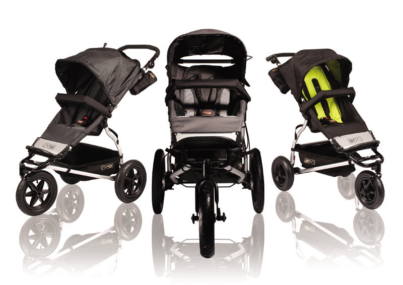 Mountain Buggy Urban Jungle Stroller, Black Dot (Discontinued by