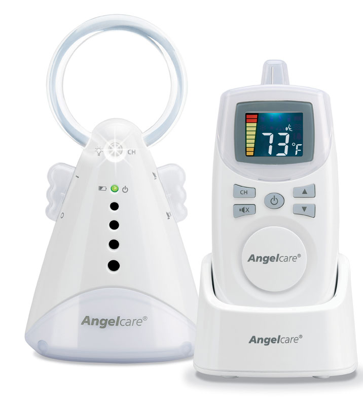 angelcare baby sound monitor white baby audio monitors baby. Black Bedroom Furniture Sets. Home Design Ideas