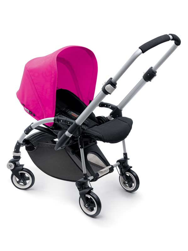 The Bugaboo Bee Sun Canopy has a UV protection rate of UPF 50+. View