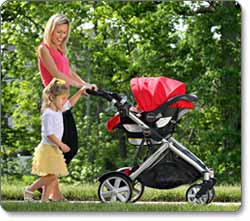 BRITAX CHAPERONE Infant Carrier Lifestyle Shot