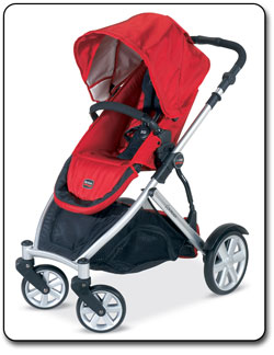 Britax B-Ready Stroller (Red)