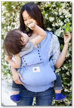 Ergobaby Sport Collection Baby Carrier (Blue) Product Shot