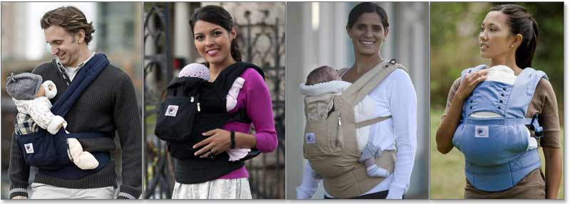 Ergobaby Baby Carrier Lifestyle Image