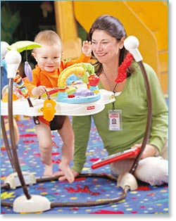 Fisher Price Love U Zoo Jumperoo Lifestyle Shot