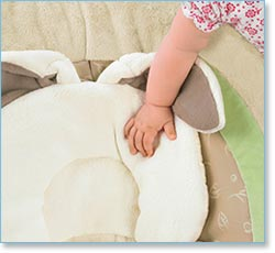 Fisher Price My Little Snugabunny Cradle 'n Swing - Soft, Plush Fabrics