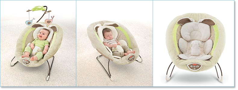 My Little Snugabunny Bouncer by Fisher-Price®