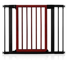 Munchkin Wood and Steel Designer Gate, Dark Wood Product Shot