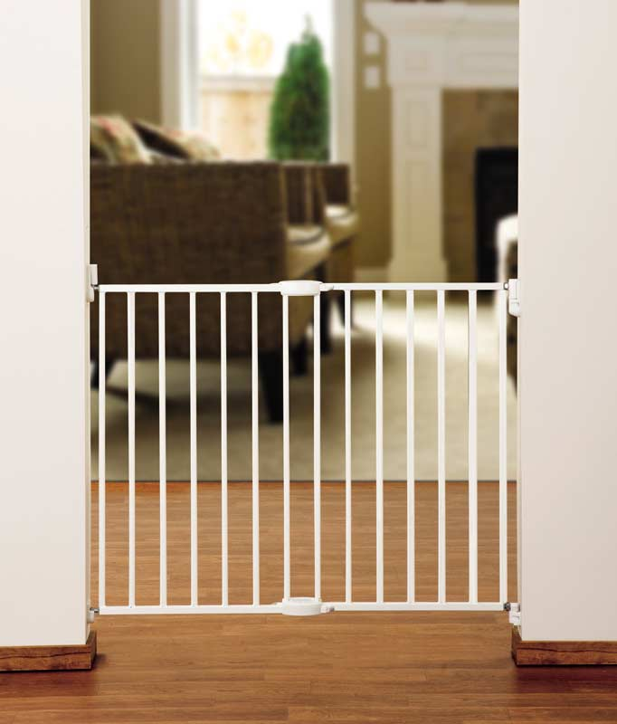 Munchkin Extending Metal Security Safety Gate Baby Infant