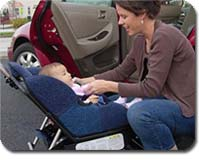 Sit 'n' Stroll - car seat to stroller