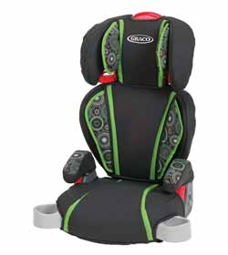Highback TurboBooster Car Seat Product Shot