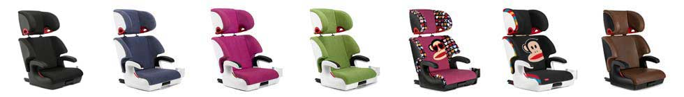 Clek Oobr Booster Car Seat colors