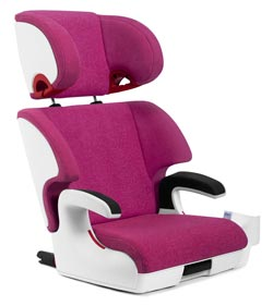 Clek Oobr Booster Car Seat, Snowberry Product Shot